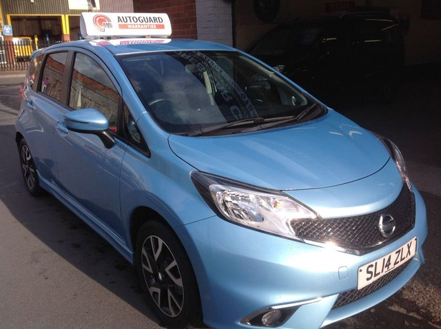 2014 14 NISSAN NOTE 1.2 ACENTA