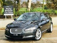2013 JAGUAR XF 3.0 D V6 PREMIUM LUXURY 4d AUTO 240 BHP £14995.00