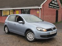 2009 VOLKSWAGEN GOLF 1.6 TDI S (ONE OWNER / £30 TAX) 5dr £3790.00