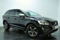 USED 2014 64 VOLVO XC60 2.4 D4 R-DESIGN NAV AWD 5d AUTO 178 BHP 1 OWNER + MAIN DEALER SERVICE HISTORY