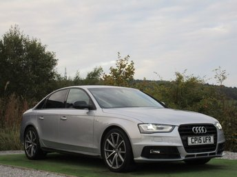 2015 AUDI A4 2.0 TDI S LINE BLACK EDITION PLUS 4d 174 BHP £14990.00