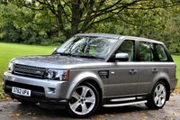 USED 2013 62 LAND ROVER RANGE ROVER SPORT 3.0 SDV6 HSE BLACK 5d AUTO 255 BHP