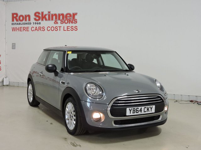 View our 2015 64 MINI HATCH ONE 1.5 ONE D 3d 94 BHP with Pepper Pack + 16in Alloys + Chrome Line Exterior and Interior
