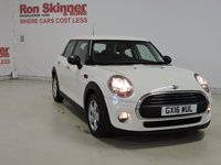 USED 2016 16 MINI HATCH ONE 1.5 ONE D 5d 94 BHP with Pepper Pack