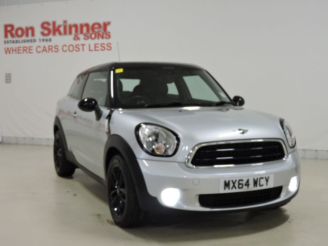 View our 2014 64 MINI PACEMAN 2.0 COOPER D 3d AUTO 112 BHP with CHILI Pack + Leather Upholstery