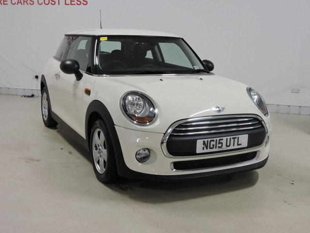 View our 2015 15 MINI HATCH ONE 1.2 ONE 3d 101 BHP with Pepper Pack + Cruise Control