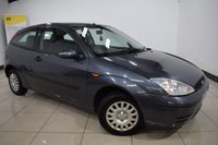 USED 2005 05 FORD FOCUS 1.4 LX 3d 74 BHP