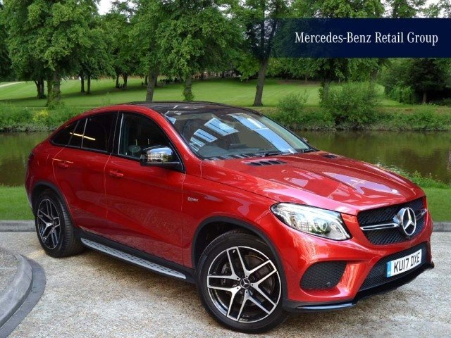 View our 2017 17 MERCEDES-BENZ GLE-CLASS Mercedes-Benz Gle-Class Mercedes-AMG GLE 43 4MATIC Coupé 3.0 4dr