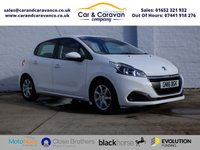 USED 2016 16 PEUGEOT 208 1.2 ACTIVE 5d 82 BHP Full Service History Air Con Buy Now, Pay in 2 Months!