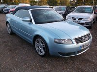 USED 2005 05 AUDI A4 1.8 T 2d 161 BHP STYLISH FUN CONVERTIBLE! F.S.H, HIGH SPEC..!