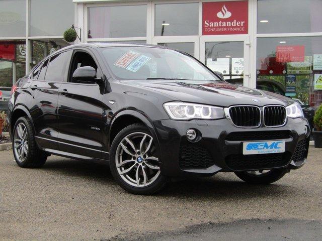 2015 65 BMW X4 2.0 XDRIVE20D M SPORT 4d AUTO 188 BHP