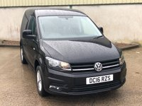 USED 2016 16 VOLKSWAGEN CADDY 2.0 C20 TDI HIGHLINE 1d 101 BHP GREAT SPEC, BLUETOOTH, PARK SENSORS, CRUISE CONTROL, AIRCON!