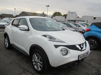 USED 2014 64 NISSAN JUKE 1.5 ACENTA PREMIUM DCI 5d 110 BHP BUY NOW - PAY 2019