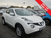 USED 2014 64 NISSAN JUKE 1.5 ACENTA PREMIUM DCI 5d 110 BHP DVC - DYNAMIC VEHICLE CONTROL