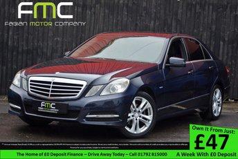 2011 MERCEDES-BENZ E CLASS 2.1 E220 CDI BLUEEFFICIENCY EXECUTIVE SE 4d AUTO 170 BHP £8999.00