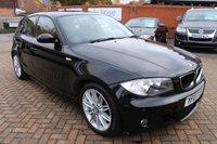 2007 BMW 1 SERIES 2.0 120D M SPORT 5d AUTO 175 BHP £4295.00