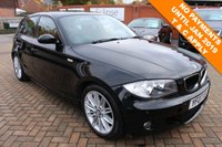 USED 2007 07 BMW 1 SERIES 2.0 120D M SPORT 5d AUTO 175 BHP 12 Month National Warranty inc