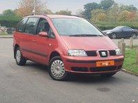 2002 SEAT ALHAMBRA 2.0 S 5d 114 BHP £4490.00