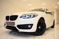 USED 2017 67 BMW 2 SERIES 218D SPORT 2.0 COUPE