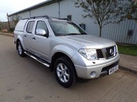 USED 2009 58 NISSAN NAVARA 2.5 AVENTURA DCI 4X4 SWB SHR D/C 1d AUTOMATIC 169 BHP FULL LEATHER PART EXCHANGE AVAILABLE / ALL CARDS / FINANCE AVAILABLE