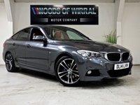 2014 BMW 3 SERIES 2.0 320D M SPORT GRAN TURISMO 5d AUTO 181 BHP £16780.00