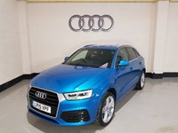 USED 2015 15 AUDI Q3 1.4 TFSI S LINE 5d 148 BHP Sat-Nav/Full Leather Seats/Power Boot/19In Alloys/Xenon