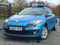 USED 2013 62 RENAULT MEGANE 1.6 16v Dynamique Tom Tom 5dr (Tom Tom) High Spec - Low Miles