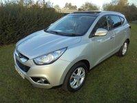 USED 2011 HYUNDAI IX35 1.7 CRDi 16v Premium Individual Pack 2WD 5dr Sunroof,Clean Example
