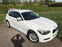 2013 BMW 1 SERIES 1.6 116I SE 5d AUTO 135 BHP Full BMW History, MINT!! £10290.00