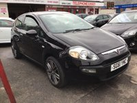 USED 2011 61 FIAT PUNTO EVO 1.2 ACTIVE 3d 68 BHP 53000 miles, black, low insurance, economical, great value,