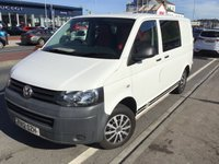 USED 2012 12 VOLKSWAGEN TRANSPORTER T5 CAMPER 2.0 T28 TDI 1d 84 BHP Diesel, campervan, 2 berth, newly converted, cooker, mains hook up, superb.