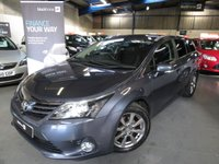 2012 TOYOTA AVENSIS 2.0 T4 D-4D 5d 124 BHP £6290.00