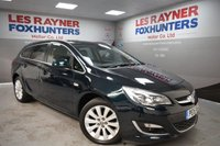 USED 2015 15 VAUXHALL ASTRA 1.6 ELITE 5d AUTO 113 BHP Park sensors, Full Leather, Cruise control, heated seats, privacy glass