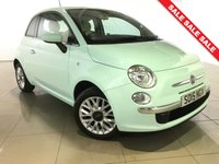 USED 2015 15 FIAT 500 1.2 POP STAR 3d 69 BHP Part Leather/Air Con