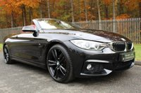 USED 2015 65 BMW 4 SERIES 2.0 420D M SPORT 2d AUTO 188 BHP A GORGEOUS 420D WITH RED LEATHER, PRO NAV, BMW HISTORY......