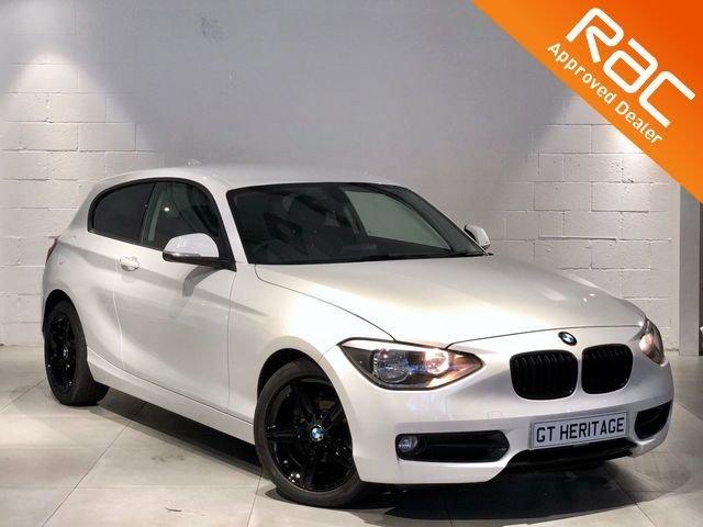 2014 14 BMW 1 SERIES 2.0 118D SPORT 3d 141 BHP