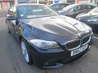 2012 BMW 5 SERIES 2.0 520D M SPORT 4d AUTOMATIC 181 BHP