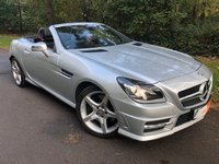 2014 MERCEDES-BENZ SLK 1.8 SLK200 BLUEEFFICIENCY AMG SPORT 2d AUTO 184 BHP £15295.00