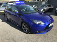 2014 FORD FOCUS 2.0 ST-3 5d 247 BHP IN METALLIC BLUE WITH ON 37000 MILES IN IMMACULATE CONDITION £14499.00