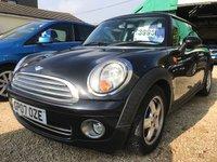 2007 MINI HATCH ONE 1.4 ONE 3d AUTO 94 BHP £3995.00