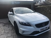 USED 2015 65 VOLVO V40 2.0 T2 R-DESIGN 5d 120 BHP 1 OWNER + FSH + MOT SEP 19 + DAB + BLUETOOTH