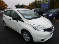 2015 NISSAN NOTE 1.5 DCI VISIA 5d 90 BHP £7250.00