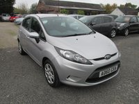 USED 2010 60 FORD FIESTA 1.2 EDGE 5d 59 BHP POPULAR 5DOOR FIESTA