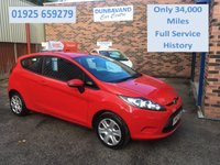 2012 FORD FIESTA 1.2 STYLE 3d 59 BHP