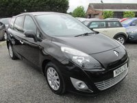 USED 2010 10 RENAULT GRAND SCENIC 1.5 PRIVILEGE TOMTOM DCI 5d 105 BHP ECONOMICAL 7 SEVEN SEATER