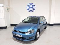 USED 2015 65 VOLKSWAGEN GOLF 1.6 MATCH TDI BLUEMOTION TECHNOLOGY 5d 103 BHP 1 Previous  Owner / £0 Road Tax