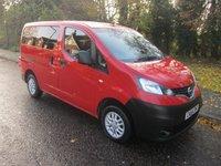 2015 NISSAN NV200 1.5 DCI ACENTA COMBI 5d 90 BHP £10800.00