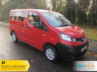 USED 2015 64 NISSAN NV200 1.5 DCI ACENTA COMBI 5d 90 BHP Fantastic One Owner Nissan NV200 MPV with Seven Seats, Air Conditioning, Alloy Wheels and Nissan Service History