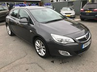 2011 VAUXHALL ASTRA 1.6 SE 5 DOOR 113 BHP IN METALLIC GREY WITH ONLY 49000 MILES £4999.00