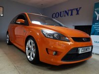 USED 2008 08 FORD FOCUS 2.5 ST-2 3d 223 BHP * WOW * WHAT A MACHINE * ONE OWNER * F.S.H * 3 MTH WARRANTY *